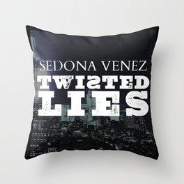 Twisted Lies by Sedona Venez Throw Pillow