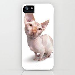 Baldy iPhone Case