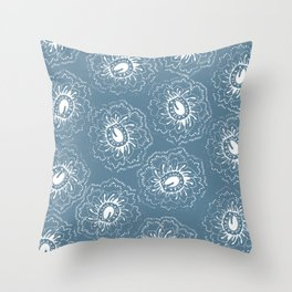 Stay inside Throw Pillow