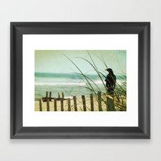My Love The Sea Framed Art Print