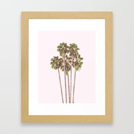 Palm Tree Dream Framed Art Print