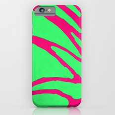 Green Pink Pattern Slim Case iPhone 6s