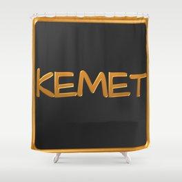 Kemet 1 Shower Curtain
