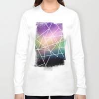 night sky Long Sleeve T-shirts featuring night sky by Cat Milchard
