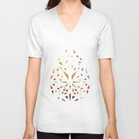 prism V-neck T-shirts featuring Prism  by Tayler Kiiim