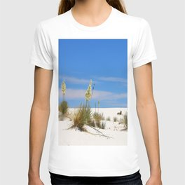 Soap Yucca At White Sand T-shirt