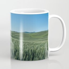 Wheat Fields Photography Print Coffee Mug
