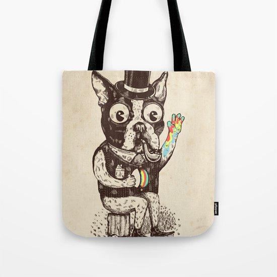 Strange Dog Tote Bag
