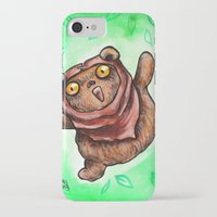 ewok iPhone & iPod Cases featuring The Happiest Ewok by Megan Mars