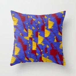 pattern funk colortheme 1 Throw Pillow