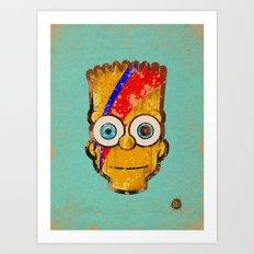Ziggy Bartdust Art Print