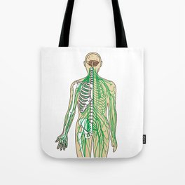 Human neural pathways Tote Bag