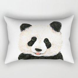 naughty little panda Rectangular Pillow
