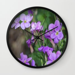 Blue to blue Wall Clock
