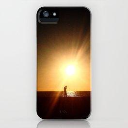 Sunset Tech iPhone Case