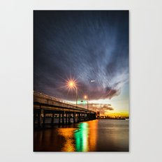 Hutchinson Island Causeway Canvas Print