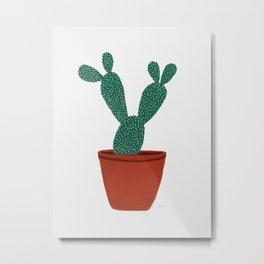 Cactus No. 1 Metal Print