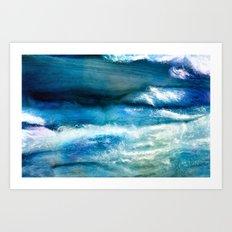 Waves of Wool Art Print