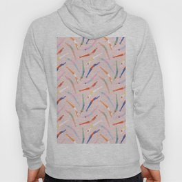 Art Deco Divers in Champagne Hoody