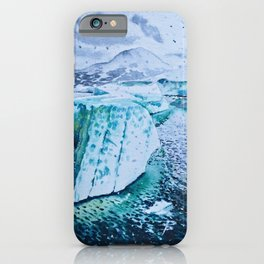 Iceberg in Iceland, Jokulsarlon iPhone Case