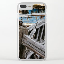 Ship Wreck Clear iPhone Case