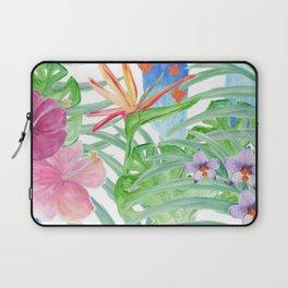 Malia's Tropical Print Laptop Sleeve