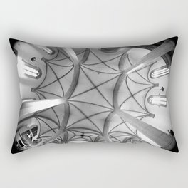 St. Mary's Church St. Mary's parish church in Torgau BW 2 Rectangular Pillow
