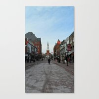 vermont Canvas Prints featuring Vermont  by L James M Arts