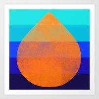 flourish 3 Art Print
