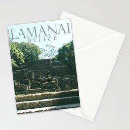 LAMANAI: Mask Temple Stationery Cards
