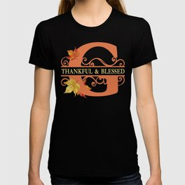 Thanksgiving G Monogram T-shirt