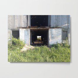 The Barn on 500 Metal Print