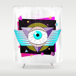 The All-Seer Shower Curtain
