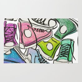 Sneaker Party Rug