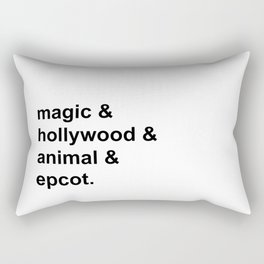 Four Parks Rectangular Pillow