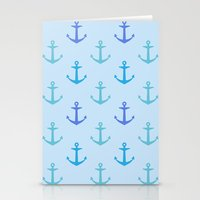 anchors Stationery Cards featuring Anchors by wensays