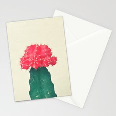 Red Plaid Cactus Stationery Cards