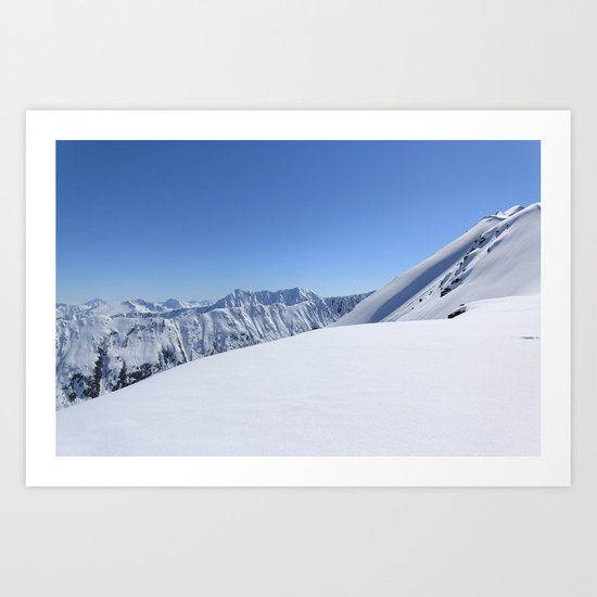 May in AK Art Print