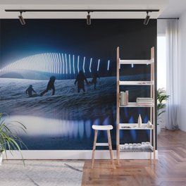 blinded by the lights Wall Mural