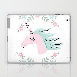 Unicorn portrait Laptop & iPad Skin
