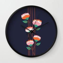 Benoít Flowers Wall Clock