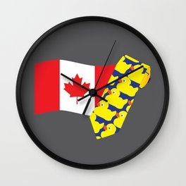 HIMYM Couples - Barney & Robin Wall Clock