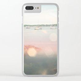 Salem Harbor Clear iPhone Case