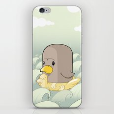 Chick Across the Sea iPhone & iPod Skin