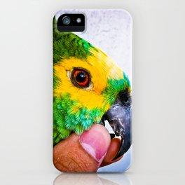 Parrot Brazilian Colors iPhone Case