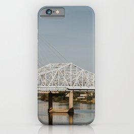 Louisville Bridges on the Ohio River iPhone Case