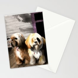 Afternoon Sentries Stationery Cards