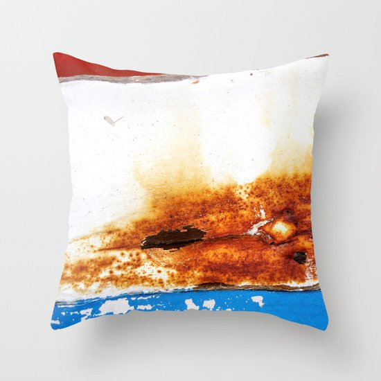 Leaned Throw Pillow