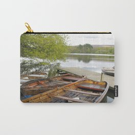 Boats on Wyresdale Lake, Scorton Carry-All Pouch