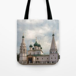 Church of Elijah the Prophet, Yaroslavl Tote Bag